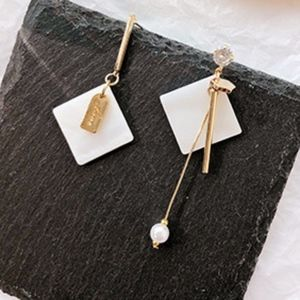 NEW Unique Style Square Handmade Earrings